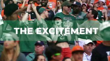 University of Miami TV Spot, '2020 Football Season'