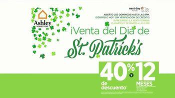 Ashley HomeStore Venta del Día de St. Patrick's TV Spot, 'El trébol de la suerte' [Spanish] - Thumbnail 2