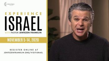 Jentezen Franklin TV Spot, 'Holy Land Tour' Featuring Jentezen Franklin - 16 commercial airings