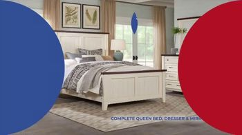 Rooms to Go Anniversary Sale TV Spot, 'Five Piece Bedroom: $999' Song by Junior Senior - Thumbnail 4