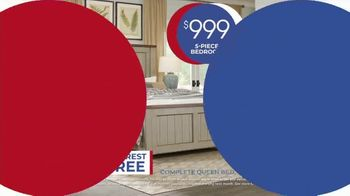 Rooms to Go Anniversary Sale TV Spot, 'Five Piece Bedroom: $999' Song by Junior Senior - Thumbnail 9