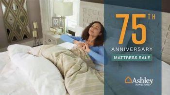 Ashley HomeStore 75th Anniversary Mattress Sale TV Spot, 'Save $1,000' Song by Midnight Riot - Thumbnail 2