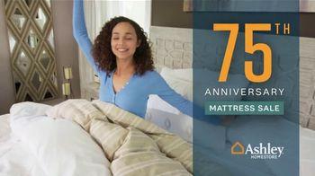 Ashley HomeStore 75th Anniversary Mattress Sale TV Spot, 'Save $1,000' Song by Midnight Riot - Thumbnail 3