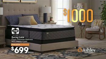 Ashley HomeStore 75th Anniversary Mattress Sale TV Spot, 'Save $1,000' Song by Midnight Riot - Thumbnail 6
