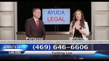 Fielding Law Group TV Spot, 'Profesionales legales en vivo' [Spanish]