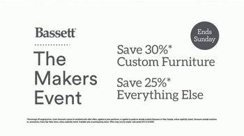 Bassett The Makers Event TV Spot, 'American Artisans: Save 30%' - Thumbnail 9