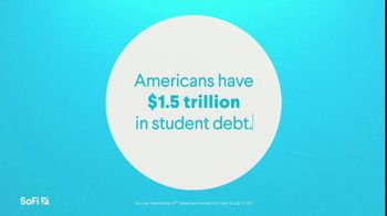 SoFi TV Spot, 'SoFi Members Get Their Student Debt Right: $1.5 Trillion: End in Sight' Song by Labrinth - Thumbnail 1