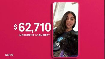 SoFi TV Spot, 'SoFi Members Get Their Student Debt Right: $1.5 Trillion: End in Sight' Song by Labrinth - Thumbnail 3