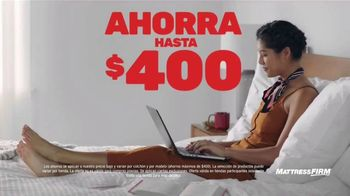 Mattress Firm Venta Semi-Anual TV Spot, 'Ahorra en las mejores marcas' [Spanish] - Thumbnail 2