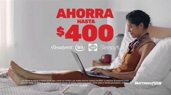 Mattress Firm Venta Semi-Anual TV Spot, 'Ahorra en las mejores marcas' [Spanish] - Thumbnail 3