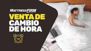 Mattress Firm Venta de Cambio de Hora TV Spot, 'King a precio queen' [Spanish] - Thumbnail 1