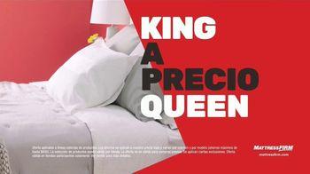 Mattress Firm Venta de Cambio de Hora TV Spot, 'King a precio queen' [Spanish] - Thumbnail 4