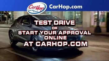 CarHop Auto Sales & Finance TV Spot, 'Great Used Cars: Credit'