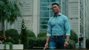 Men's Wearhouse TV Spot, 'Style Your Spring: Suits and Shirts' - Thumbnail 6