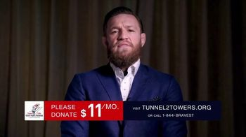 Stephen Siller Tunnel to Towers Foundation TV Spot, 'Real Life Heroes' Featuring Conor McGregor - Thumbnail 4