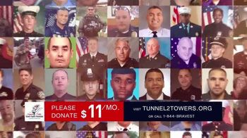 Stephen Siller Tunnel to Towers Foundation TV Spot, 'Real Life Heroes' Featuring Conor McGregor - 24 commercial airings