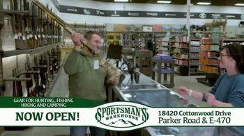 Sportsman's Warehouse TV Spot, 'Now Open!'