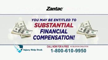 Injury Help Desk TV Spot, 'Zantac'