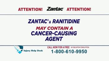 Injury Help Desk TV Spot, 'Zantac' - Thumbnail 5