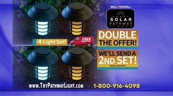 Bell + Howell Smart Solar Pathway Lights TV Spot, 'Instant Appeal' - Thumbnail 10