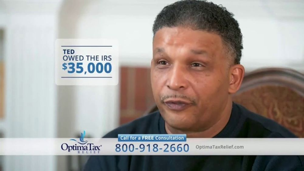 Optima Tax Relief TV Commercial, 'Ted's Success Story'