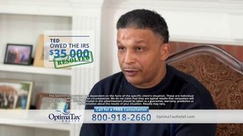 Optima Tax Relief TV Spot, 'Ted's Success Story' - Thumbnail 6