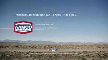 AAMCO Transmissions TV Spot, '800 Pieces: Free Check' - Thumbnail 8