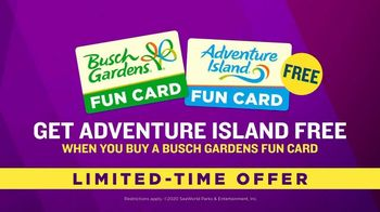 Busch Gardens Food & Wine Festival TV Spot, 'Get Adventure Island Free: Wine, Beers and Cocktails' - Thumbnail 6