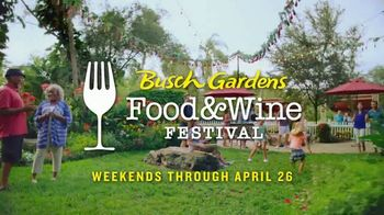 Busch Gardens Food & Wine Festival TV Spot, 'Get Adventure Island Free: Wine, Beers and Cocktails'
