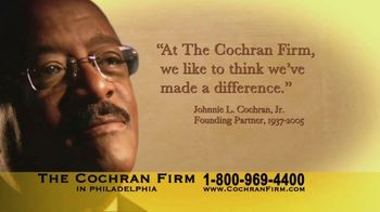 The Cochran Law Firm TV Spot, 'Resources'