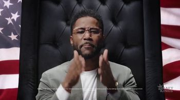 DraftKings TV Spot, 'Land Without Kings' Featuring Nate Burleson - Thumbnail 4