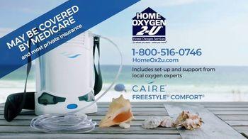 Home Oxygen 2-U Portable Oxygen Concentrator TV Spot, 'Beach' - Thumbnail 10