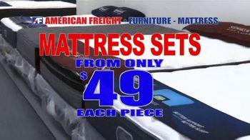 American Freight TV Spot, 'Big Mattress Savings: Up to 58 Percent Off'