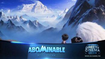 DIRECTV Cinema TV Spot, 'Abominable' - Thumbnail 1