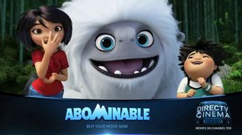 DIRECTV Cinema TV Spot, 'Abominable'
