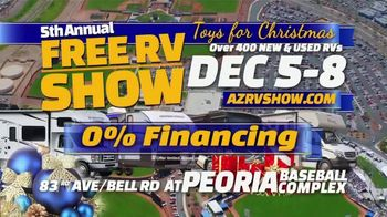 Peoria Sports Complex TV Spot, 'Toys for Christmas RV Show' - Thumbnail 3