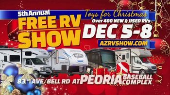 Peoria Sports Complex TV Spot, 'Toys for Christmas RV Show' - Thumbnail 1