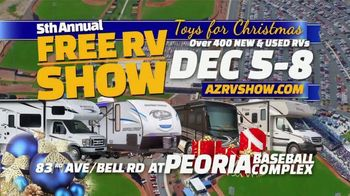 Peoria Sports Complex TV Spot, 'Toys for Christmas RV Show' - Thumbnail 2