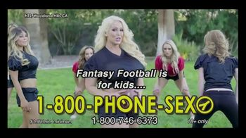 1-800-PHONE-SEXY TV Spot, 'Football is Back'