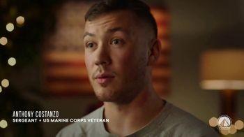 USO TV Spot, 'Paramount Network: Happy Holidays: Anthony' - Thumbnail 7