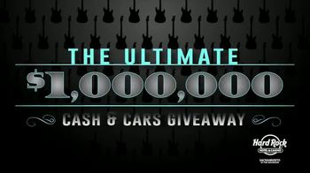Hard Rock Hotels & Casino Sacramento Ultimate Million Dollar Cash and Cars Giveaway TV Spot, 'Everyone Wins' - Thumbnail 3