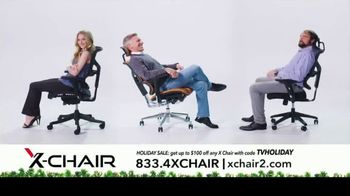 X-Chair Holiday Sale TV Spot, 'Nancy: $100 Off' - Thumbnail 10