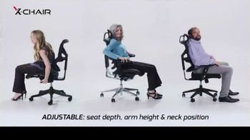 X-Chair Holiday Sale TV Spot, 'Nancy: $100 Off' - Thumbnail 5