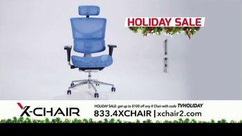 X-Chair Holiday Sale TV Spot, 'Nancy: $100 Off' - Thumbnail 8