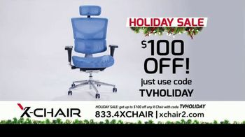 X-Chair Holiday Sale TV Spot, 'Nancy: $100 Off' - Thumbnail 9