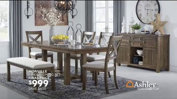 Ashley HomeStore TV Spot, 'Home for the Holidays: 25 Percent: Sofas & Dining' Song by Midnight Riot - Thumbnail 7