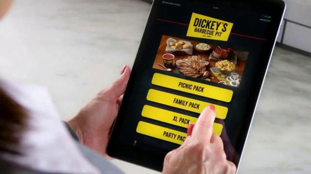 Dickey's BBQ TV Commercial, 'DoorDash: Send Everyone Home Satisfied'