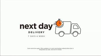 Ashley HomeStore Outlet TV Spot, 'Mattresses and Sofas: Next Day Delivery' Song by Midnight Riot - Thumbnail 6