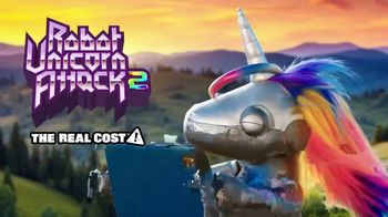 Adult Swim Games TV Spot, 'The Real Cost: Robot Unicorn Attack 2' - Thumbnail 10