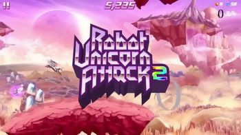 Adult Swim Games TV Spot, 'The Real Cost: Robot Unicorn Attack 2' - Thumbnail 2